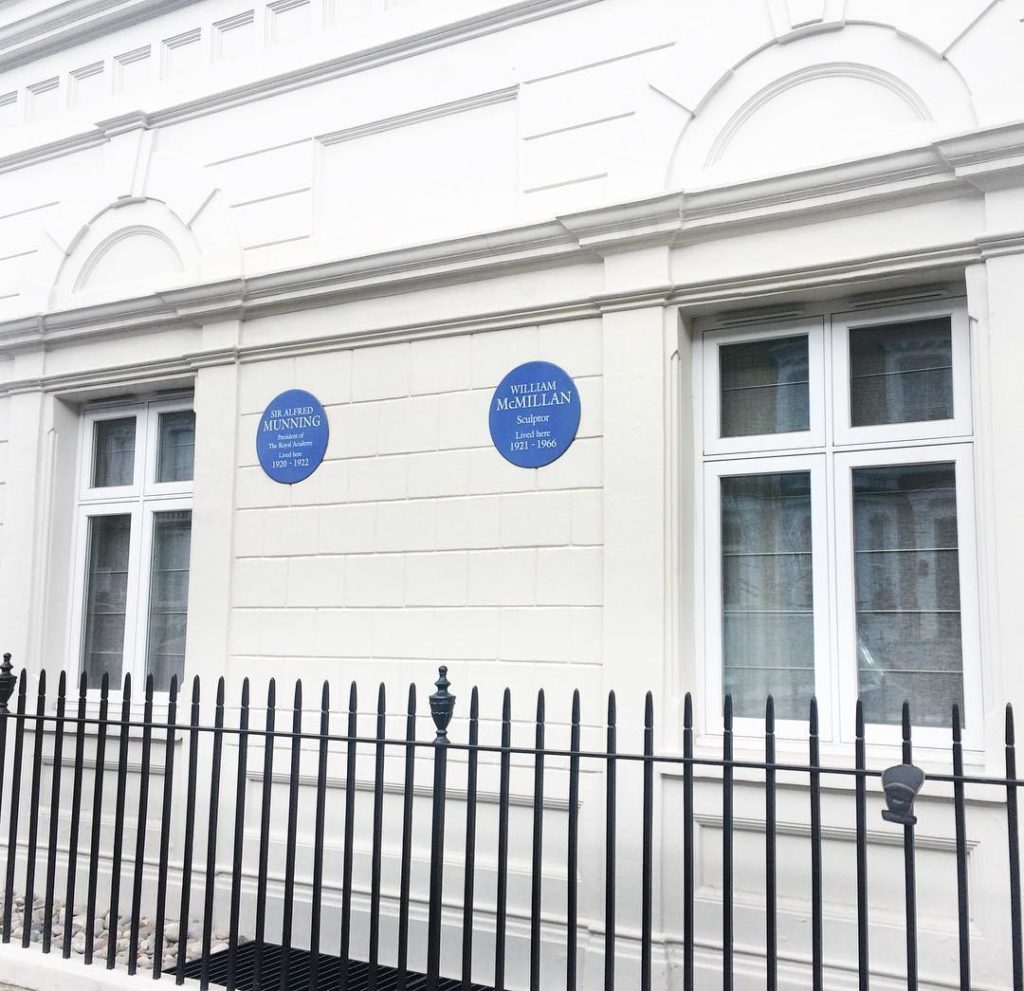 Whats better than one blue plaque? TWO BLUE PLAQUES Ihellip