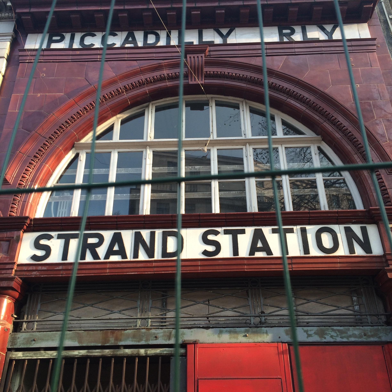 old Aldwych Strand Station