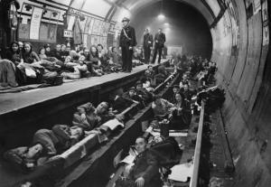 Aldwych tube station 1940