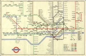 London tube map 1948