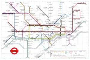 London Underground map 1972