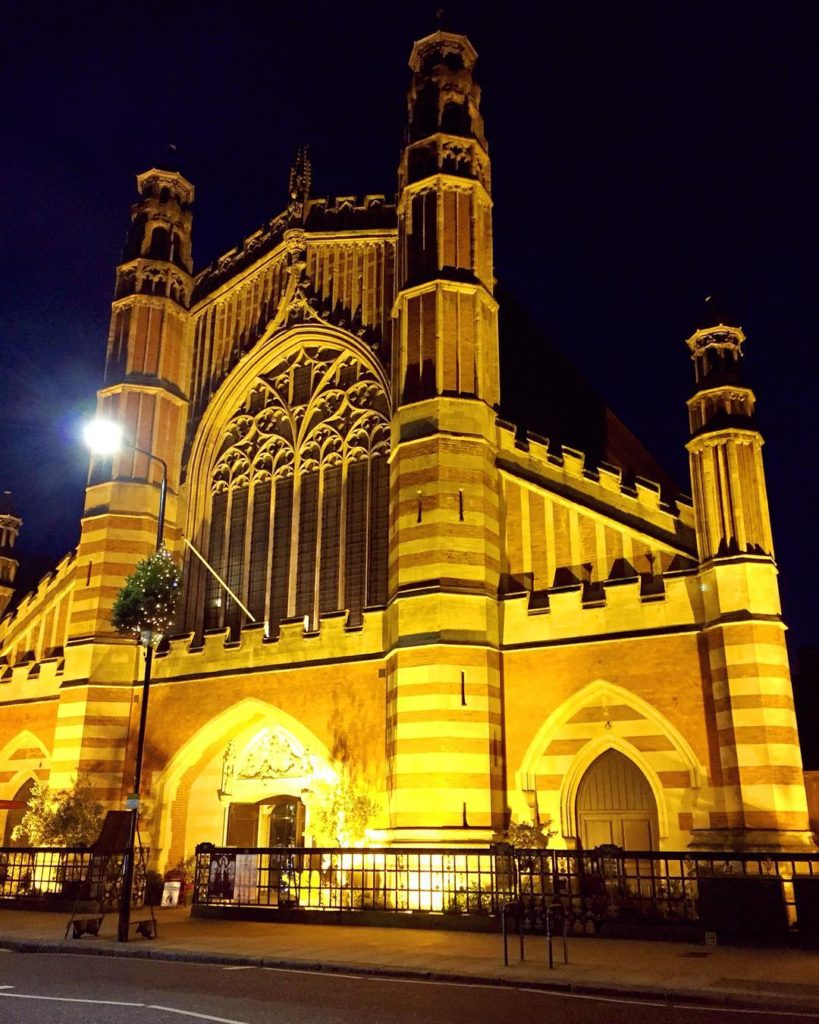 Holy Trinity Church off Sloane Square london londonatnight thisislondon churchhellip